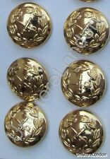 Button General Staff Military Army Gold 25mm R751