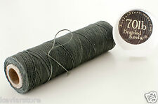 70lb test Braided Kevlar ~ 900ft Increments ~ Sea Green ~ FREE SHIPPING!