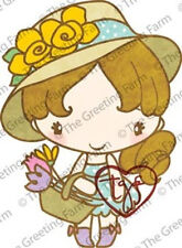 GARDEN ANYA-The Greeting Farm Cling Mount Rubber Stamp-Stamping Craft-Cards