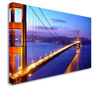 san francisco golden gate bridge Wall Picture Canvas Art Cheap Print