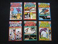 Strange Sport Stories - 1973 #1 to #6 complete set, nice copies