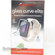 Zagg Glass Curve Elite Black Screen Protector For Apple Watch Series 4 44mm