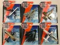 Mattel Wheels Matchbox one Sky Buster Planes    lot of 6