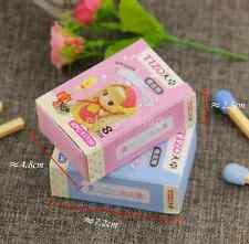 Fashion Cute School Kids Matches Colorful Rubber Pencil Eraser 8pcs/lot US