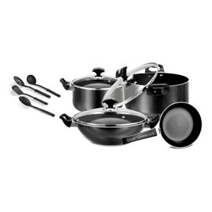NON-STICK 11 PIECES ROYAL SWISS GIFT PACK – GLASS LID, COOKWARE