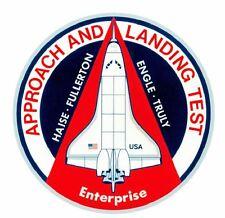 Nasa Enterprise Sticker M502 Space Program