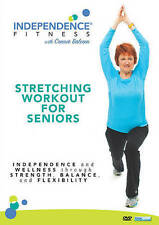 Independence Fitness: Stretching Workout for Seniors (DVD, 2016)
