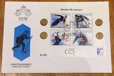 Norway Post FDC 1991.10.11. Lillehammer Olympics 1994 - Block #3
