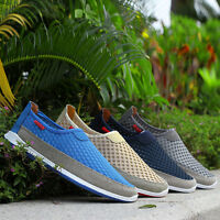 New Fashion Men's Breathable Slip On Casual shoes Mesh Loafers For Summer/Autumn