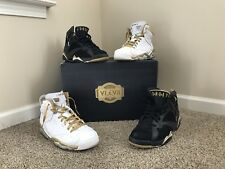 NIKE AIR JORDAN GOLDEN MOMENTS PACK GMP retro 6/7 vi vii SZ 12.5 dmp gold medal