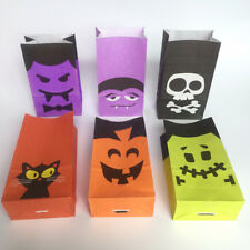 12 - HALLOWEEN CANDY PAPER BAGS FOR SWEET FLAVOUR BUFFET WEDDING CAKE GIFT SHOP