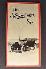 1915 Studebaker Six Small Catalog Sales Brochure Excellent Original 15