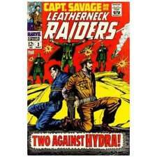 Captain Savage and His Leatherneck Raiders #3 in F cond. Marvel comics [*sn]