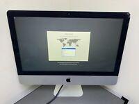 "Apple iMac 21.5"" A1418 Intel QUAD Core i5 2.7GHz 8GB 1TB HD CRACKD GRADE C USED"