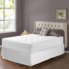 King Spring Mattress Night Therapy iCoil 12in Box Top SmartBase Bed Frame Set