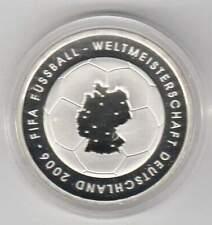 Duitsland 10 euro 2003 Proof zilver PP: WM Fussball Deutschland 2006
