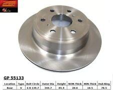 Disc Brake Rotor fits 2007-2009 GMC Yukon Sierra 1500 Sierra 1500,Yukon  BEST BR