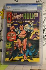 Tales to Astonish #84 CGC 8.5 Hulk Sub-Mariner Nice BOLD color cover