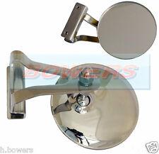 """Classic austin bmc mini 3"""" pince clip sur acier inoxydable dépassement peep miroir"""