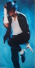 Michael Jackson  Hand painted oil painting on canvas art  no frame 36