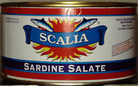 SARDE SALATE SARDA SCALIA  SCIACCA LAVORAZIONE SICILIA 1700,00 KG