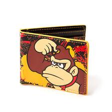 Official Nintendo Super Mario Donkey Kong Classic Retro Card Coin Wallet