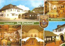 "AK, Mommenheim Rhh., Landgasthof - Hotel ""Zum Storchennest"", sechs Abb., um 1980"