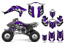 TRX 450R Graphic Kit with OEM, Fourwerx, Maier or Quadtech Hood #3500 Purple