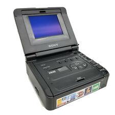 "NICE! ~ Sony GV-A500 NTSC Hi 8 Video 8mm Walkman Cassette Recorder 4"" LCD"