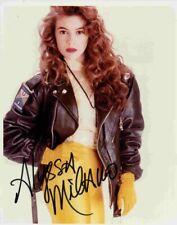 M-ALYSSA MILANO Autograph  Color Photo   W/COA