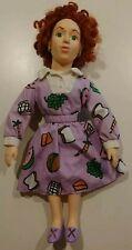 "Magic School Bus 1995 Miss Frizzle Doll (17"") By Hasbro"