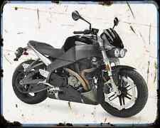 Buell Xb12S Lightning 07 A4 Metal Sign Motorbike Vintage Aged