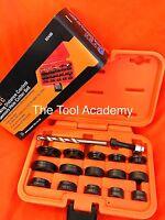 Parking Sensor Distance Control Hole Cutter Tool Set 17mm - 32mm With Drill Bit