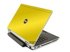YELLOW Vinyl Lid Skin Cover Decal fits Dell Latitude E6430 Laptop