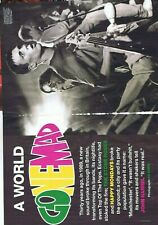 MANCHESTER STONE ROSES / HAPPY MONDAYS etc Original 8 page press clipping