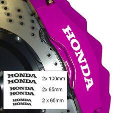 Brake Caliper x 6 Fits Honda, Civic JDM Jazz Jap Drift Car Sticker Graphic Decal