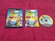 The Simpsons hit and & run ps2,complete with booklet very good overall,free post