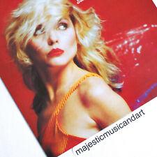 ORIGINAL 1978 MICK ROCK PHOTO COVER DEBBIE HARRY BLONDIE 12 INCH VINYL NEAR MINT