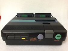 EMS F/S Sharp Twin Famicom Console Disc System New Belt AN-505BK Black Japan