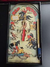RARISSIME ancien Flipper Red Ryder Gotham Corral 1950 Stephen Slesinger