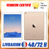 "Tablette Apple iPad Air 2 A1566 Wifi 9,7"" 128 64 32 16 GB iOs 14 iCloud Clean"