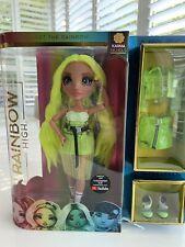 Rainbow High 28cm Karma Nichols Fashion Doll Kids Dress up Toy W/accessories 6y