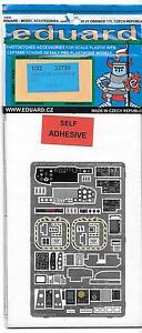 Eduard Lynx Mk. 88 Sonar Interior Photo Etch Details in 1/32 759 For Revell Kit
