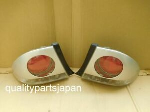 Toyota Altezza SXE10 GXE10 Lexus IS200 I Tail Lights Rear Lamps Silver COVERS