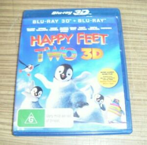 Pre-Owned Blu Ray - Happy Feet Two 3D [A10]