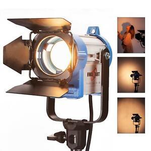 Studio Projecteur Spot 150W Fresnel Tungsten Lumière Professionnel Éclairage