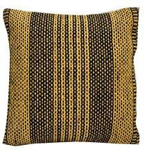 Hand Woven Jute Kilim Cushion Cover Indian Vintage Pillows 18X18 Rug Boho Sham