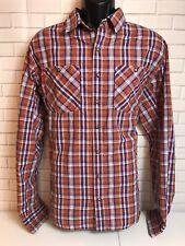 Men's Redington Snap Button Down Casual Guide Fishing Western Shirt XL Plaid