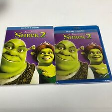 Shrek 2 (Digital Copy + Blu-Ray Disc 2018)Factory Sealed New!
