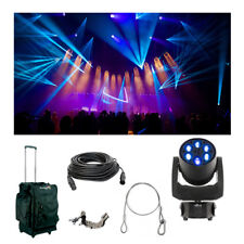 Chauvet DJ Lighting Intimidator Trio Moving Head Light Bag Clamp Cables Package